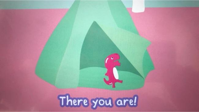 ムー「There you are!」